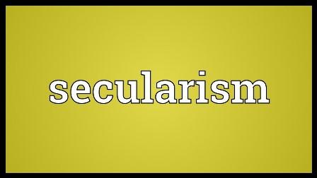 ধর্মনিরপেক্ষতাবাদ ও আমাদের রাজনীতি