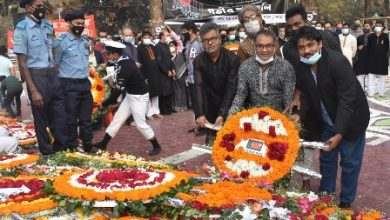 Photo of ভাষা শহীদদের প্রতি ন্যাপ-এনডিপির ফুলেল শ্রদ্ধা